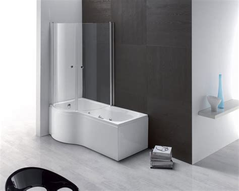 bathtubs and showers combo rectangular bath tub shower combination duo aqualife srl