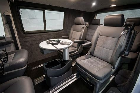 vw transporter 6 interieur caravelle business class luxury interiors sports mobile