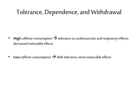 Detox From Caffeine To Reduce Tolerance by Ppt Caffeine Chapter 12 Powerpoint Presentation Id 243325