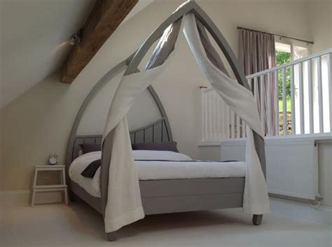 modern four poster bed frame minimal contemporary four poster bed abowed