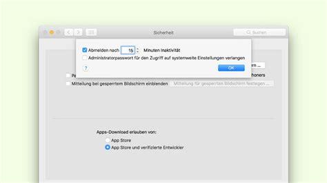 Muss Ich Mein Auto Ummelden by Computertipp Mac Benutzer Automatisch Abmelden Digital