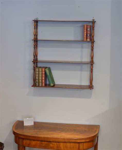 antique wall shelves georgian shelves shelving
