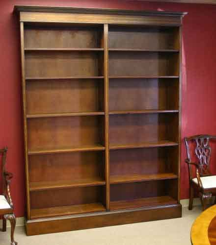 mahogany bookshelves for sale mahogany open bookcase for sale antiques classifieds