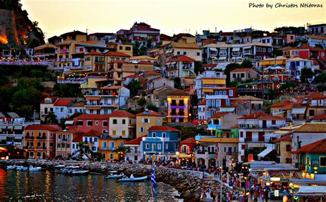 Castle For Sale by Few Minutes Before The Night Comes In Parga Greece Exp