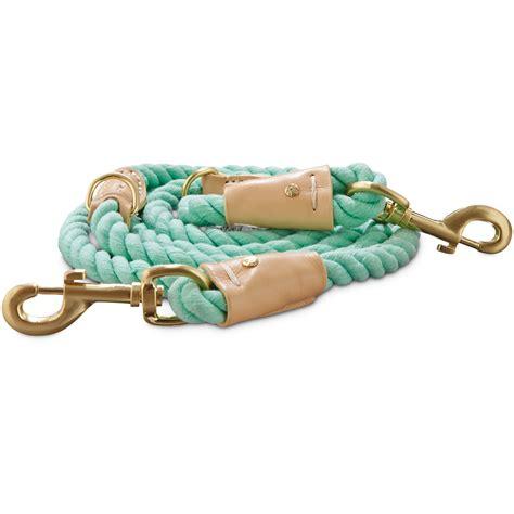 petco leash bond co turquoise buff rope leash petco