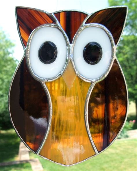 stained glass owl l 17 best images about glass stained glass ideas on