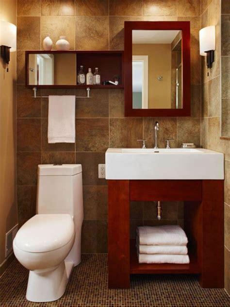 small bathroom with nice finishes diy shelves are a nice μεγάλες λύσεις για μικρά μπάνια