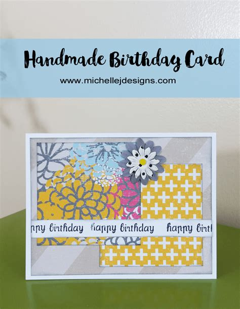 Steps To Make Handmade Cards - how to create a handmade birthday card that is so easy