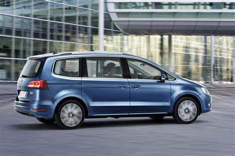 volkswagen minivan 2015 live photos 2015 vw sharan facelift gets new engines