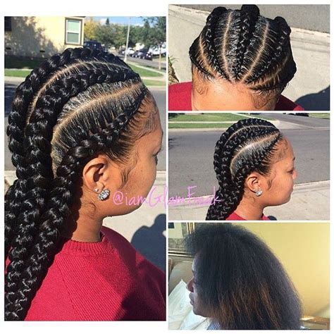 receding hairline cornrows protective natural hair styles for receding hairline