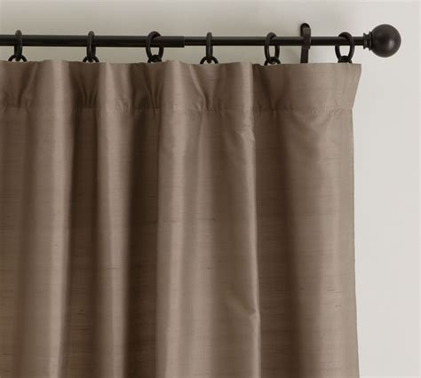 dupioni curtains dupioni silk curtain pottery barn au