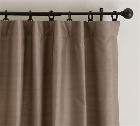 red dupioni silk drapes dupioni silk curtain pottery barn au