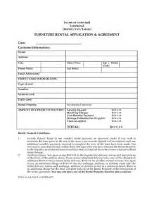 furniture rental agreement template furniture rental agreement with purchase option