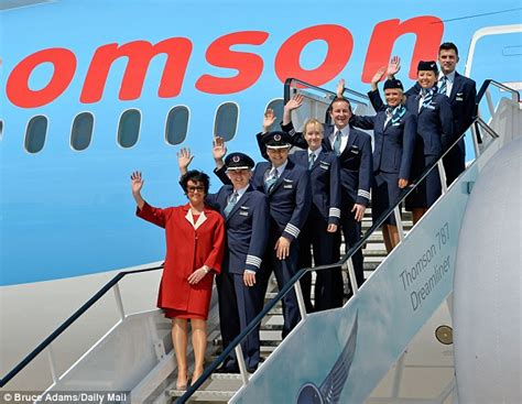 Thompson Cabin Crew by 1000 Images About On Flight Attendant