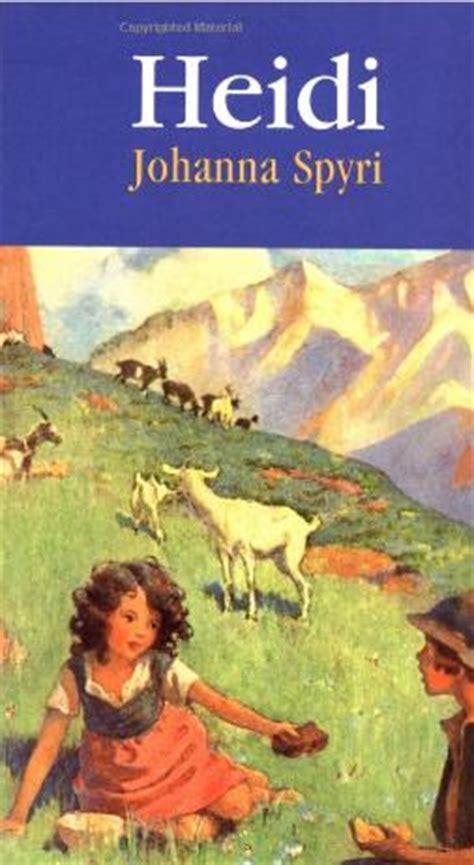 heidi books bedtime story classic book tells milk tale hartke