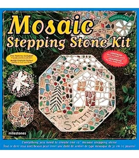mosaic stepping stone kit jo ann