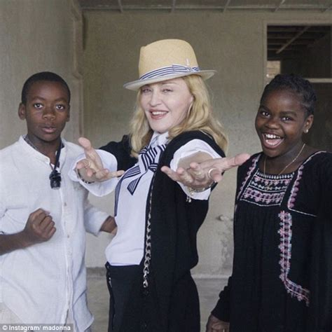 Madonna And Adopted David by Malawian Of Madonna S David Reveals She Is