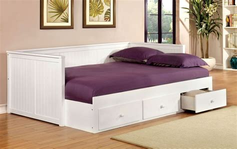 bed full size wolford white full size storage daybed from furniture of