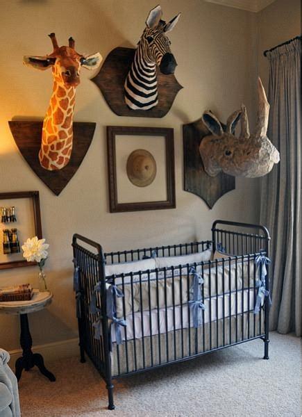 safari themed nursery decor chic and safari nursery