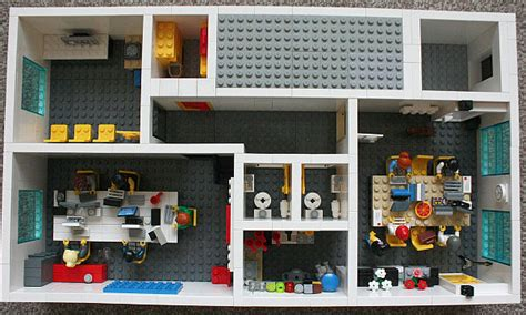 The Office Lego by Office Space Made From Lego Bricks At Yard Digital In