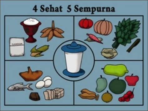 apa itu 4 sehat 5 sempurna info nutrisi dan kesehatan