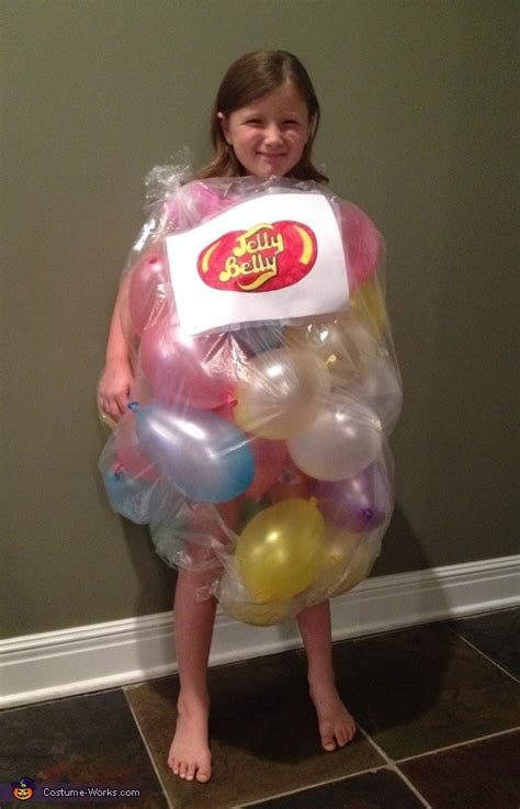 bag  jelly beans costume