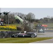 VIDEO Miracle Escape In Goodwood F1 Crash  Speedcafe