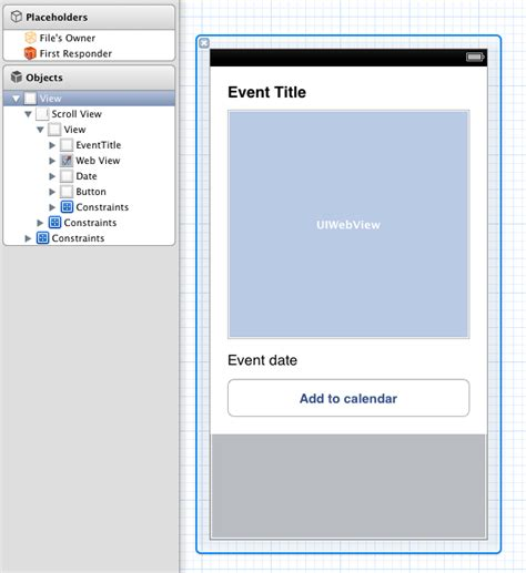 uiview layout event objective c dynamic uiview height with auto layout in