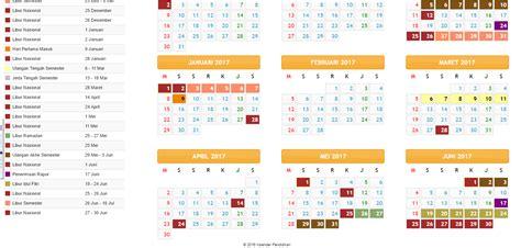 Kalender 2018 Menteri Unduh Kalender 2017 Plus Jadwal Libur Nasional Dan Libur