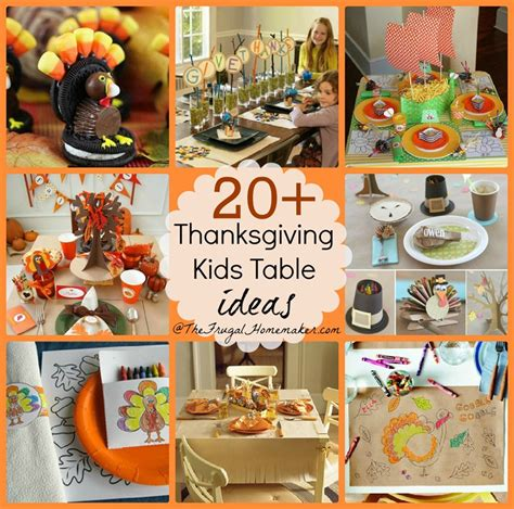kid crafts for thanksgiving table decorations thanksgiving table decorations for to