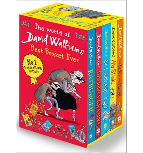 the world of david the world of david walliams best boxset ever david walliams 9780007532216