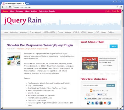 tutorial jquery plugin jquery designs best 10 resources for jquery plugins