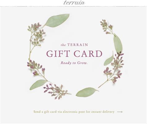 Terrain Gift Card - 17 best images about terrain 2013 on pinterest gardens gift guide and tent sale