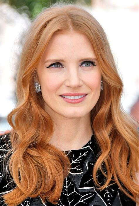 chastain hair color chastain from fall 2014 hair color inspiration e