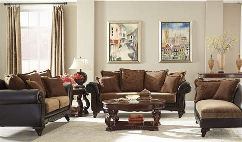 chocolate living room set garroway russet chocolate living room set from coaster