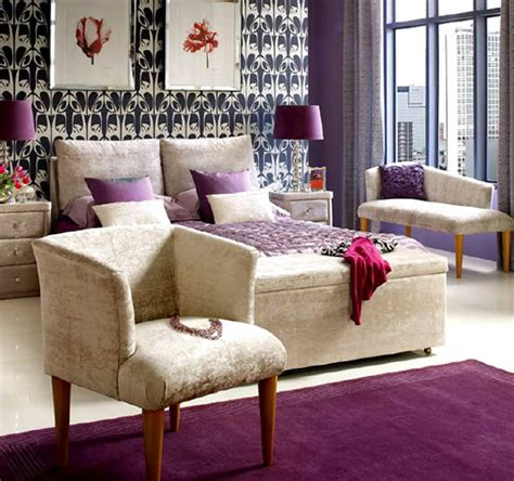 purple color schemes for home design interiorholic