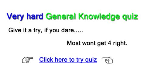 quiz questions very hard watch out very hard quiz
