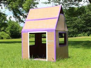 make a house how to make a weatherproof cardboard box fort diy network blog made remade diy