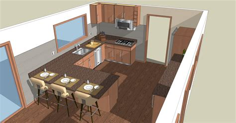 google sketchup kitchen design kitchen and bath design by krista lackey at coroflot com