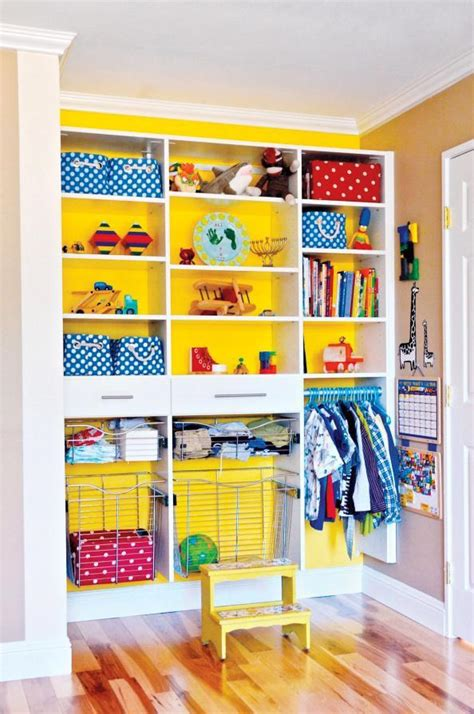 33 ideas to decorate and organize a kid s room digsdigs how to 5 easy tips to organize your kids closet