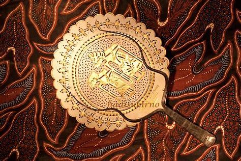 Kipas Wayang Bular Besar Kipas Kulit Kamajaya Kamaratih Gold