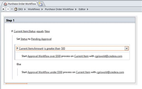 sharepoint purchase order workflow sharepoint workflow simplified one click approvals www