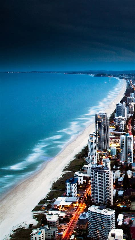 golden city coast iphone  wallpaper hd