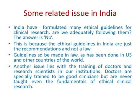 fundamental laws of the world for ensuring eternal books ethics in clinical trials