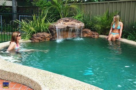 waterfall designs for backyards backyard waterfall design ideas pool design ideas