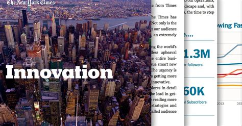 new york times report reveals the full new york times innovation report