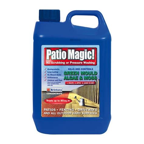 Algaelang The Algae Killer 5l brintons patio magic liquid mould algae and moss killer ebay