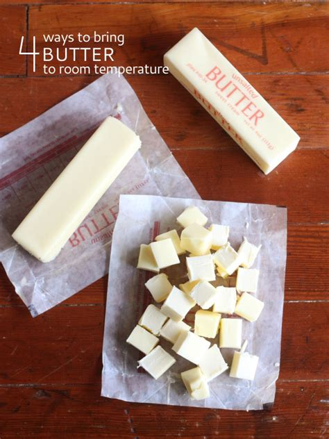butter room temperature tip 4 ways to bring butter to room temperature completely delicious