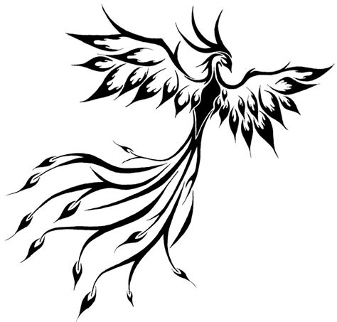 15 beautiful tribal phoenix tattoos only tribal
