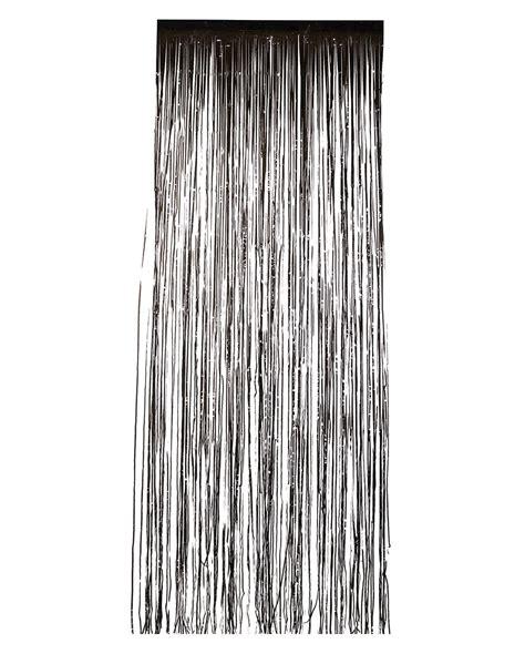 schwarzer vorhang schwarzer lametta vorhang partydeko karneval universe